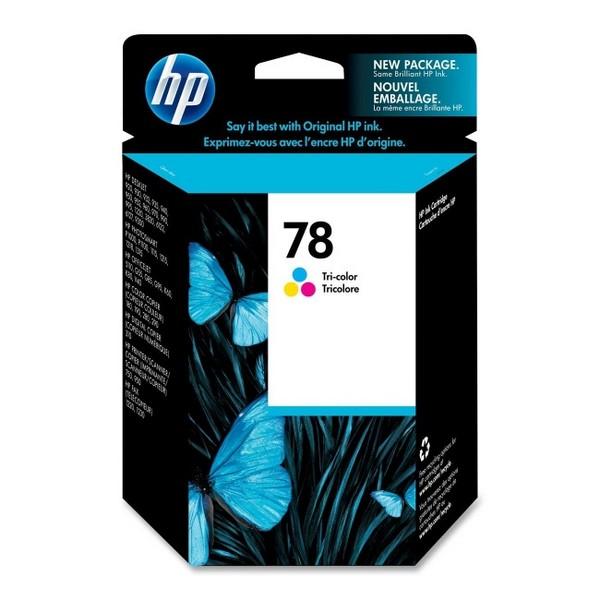 Оригинальный цветной струйный картридж HP 78 Color (C6578DE)-30