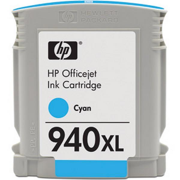 Оригинальный цветной струйный картридж повышенной емкости HP 940XL Cyan (C4907AE)-44