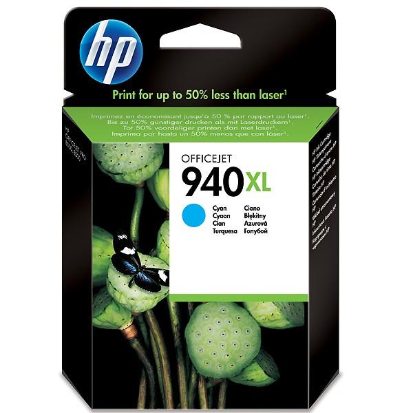 Оригинальный цветной струйный картридж повышенной емкости HP 940XL Cyan (C4907AE)-43