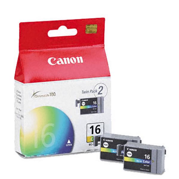 Комплект оригинальных картриджей Canon BCI-16 Color (Twin Pack) (9818A002)-112