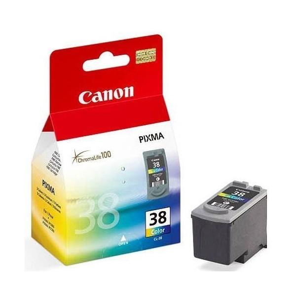 Оригинальный цветной струйный картридж Canon CL-38 Color (2146B005)-98
