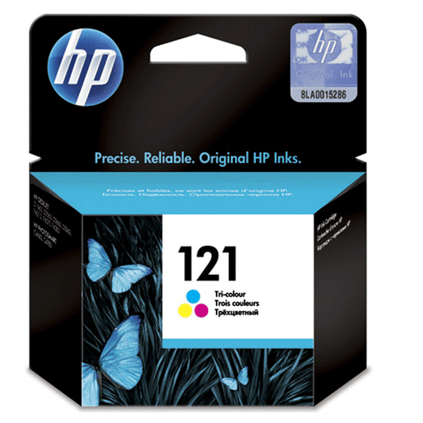 Оригинальный цветной струйный картридж HP 121 Color (CC643HE)-86
