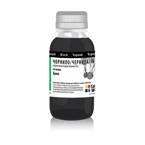 Чернила ColorWay для четырехцветных принтеров Epson 100мл Black (EW400BK)-278