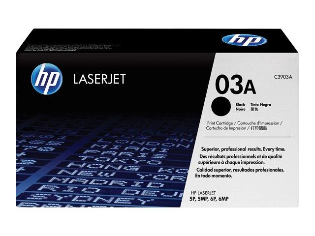 Оригинальный лазерный черный картридж HP LaserJet 03A (C3903A) Black-382