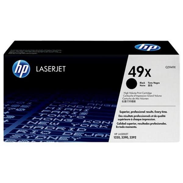 Оригинальный лазерный черный картридж HP LaserJet 49X (Q5949X) Black-383