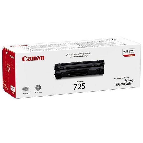 Оригинальный лазерный черный картридж Canon 725 (3484B002) Black-350