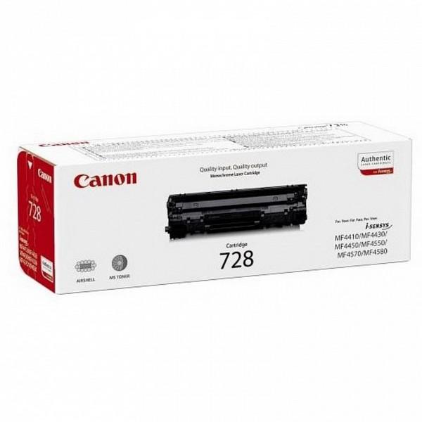 Оригинальный лазерный черный картридж Canon 728 (3500B002) Black -352