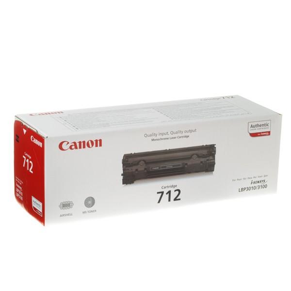 Оригинальный лазерный черный картридж Canon 712 (1870B002) Black-351