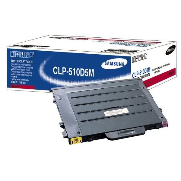 Оригинальный лазерный цветной картридж Samsung CLP-510D5M /SEE Magenta (OEM)-388