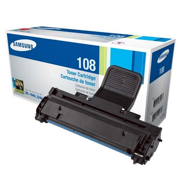 Оригинальный лазерный черный картридж Samsung MLT-D108S Black-385