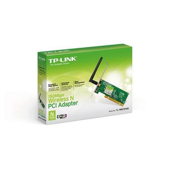 Беспроводной сетевой адаптер TP-LINK TL-WN751ND 150 Мбит/с PCI-552