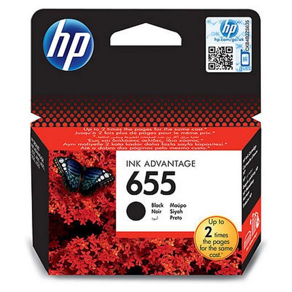 Картридж HP 655 Black (CZ109AE)