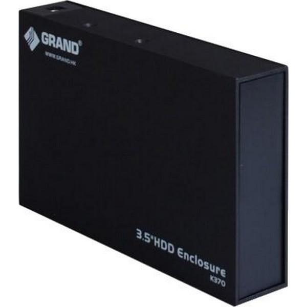 """Внешний карман для жесткого диска SATA 3,5"""" GRAND K370 USB 2.0-1009"""