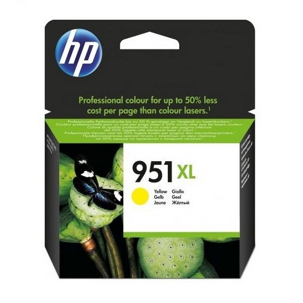 Оригинальный цветной струйный картридж повышенной емкости HP 951XL Yellow (CN048AE)-1264
