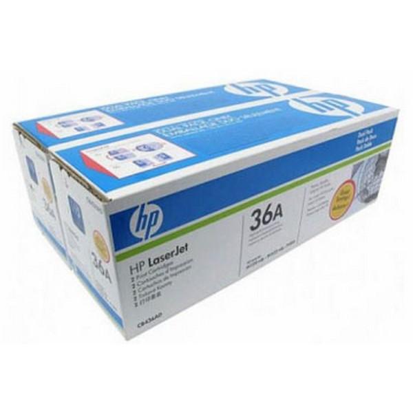 Комплект из двух оригинальных лазерных картриджей HP 36A Dual Pack (CB436AD)-1448