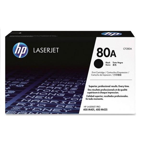 Оригинальный лазерный черный картридж HP LaserJet 80A (CF280A) Black-1503