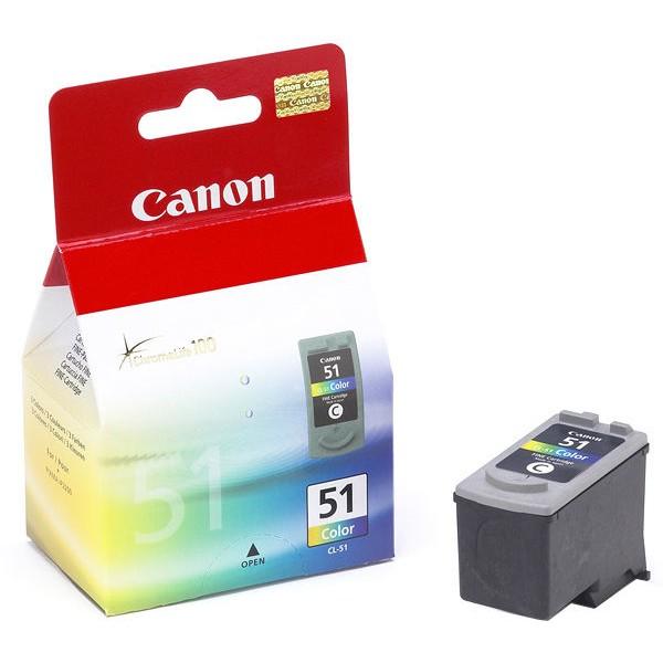 Оригинальный цветной струйный картридж Canon CL-51 Color (0618B025)-1694
