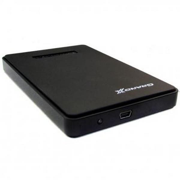 """Внешний карман для жесткого диска SATA 2,5"""" Grand-X HDE22 Black USB 2.0-1873"""