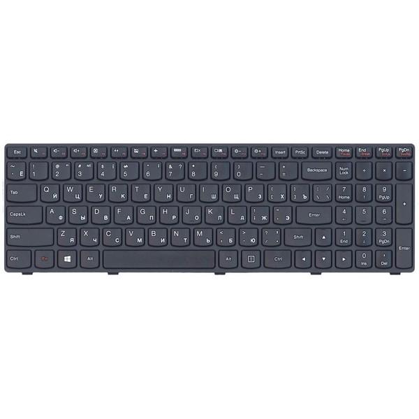 Клавиатура для ноутбука Lenovo IdeaPad G500, G505, G510, G700, G710, black, frame, rus -2247