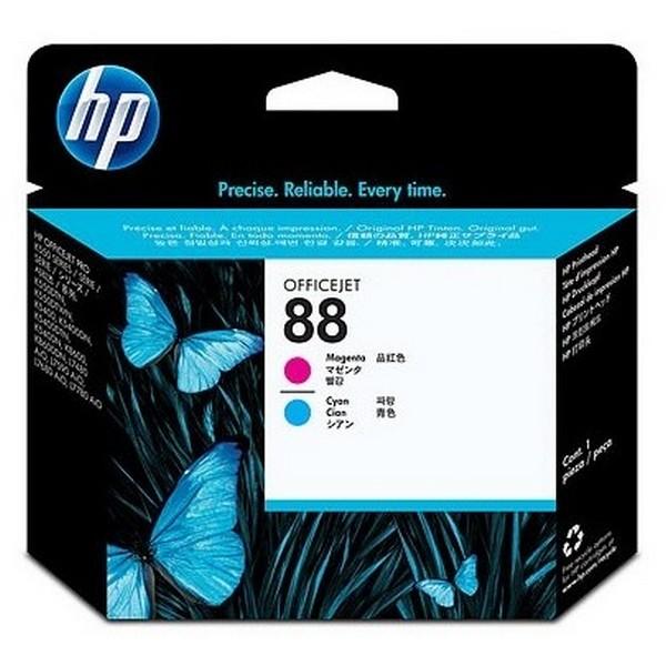 Оригинальная печатающая головка HP 88 пурпурная и голубая (C9382A)-2193